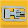 Hummer H2 Stainless Steel Logo Surround Bezels by REALWHEELS