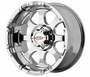 Motometal Chrome Series M0955 16x8