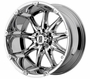 "XD 779 Badlands Chrome Wheels 18""- 22"""