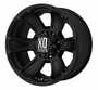 "XD796 Revolver Matte Black Wheels 17""- 20"""