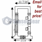 AutoPilot 941-215C-A Two Cell/Two TriSensor Manifold Assembly