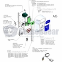 AutoPilot STK0095 AG Wire and Cable Replacement Kit