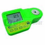 Milwaukee MA885 DIGITAL REFRACTOMETER %Brix - 記echsle - 袁MW user select scales & Automatic Temperature Compensation (ATC)