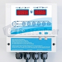 Rola-Chem 554000 RC554XP Digital ORP/pH Controller - Includes Flow Cell with Flow Switch, pH/ORP Probes