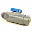 "Rola-Chem 6389490 3/8"" Quick Connect Valve for In-Line Filter"