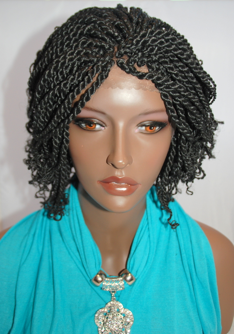 Kinky Twist Lace Front Wig - Discount Wig Supply