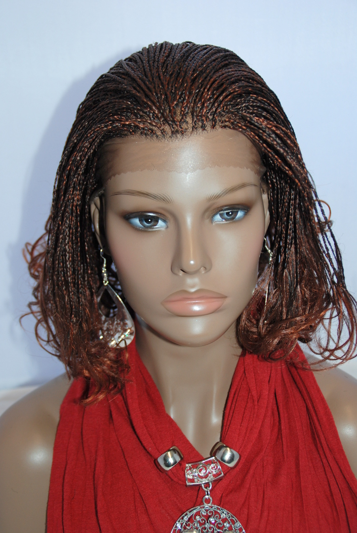 Micro Braids Lace Front Wigs - Realistic Lace Front Wig