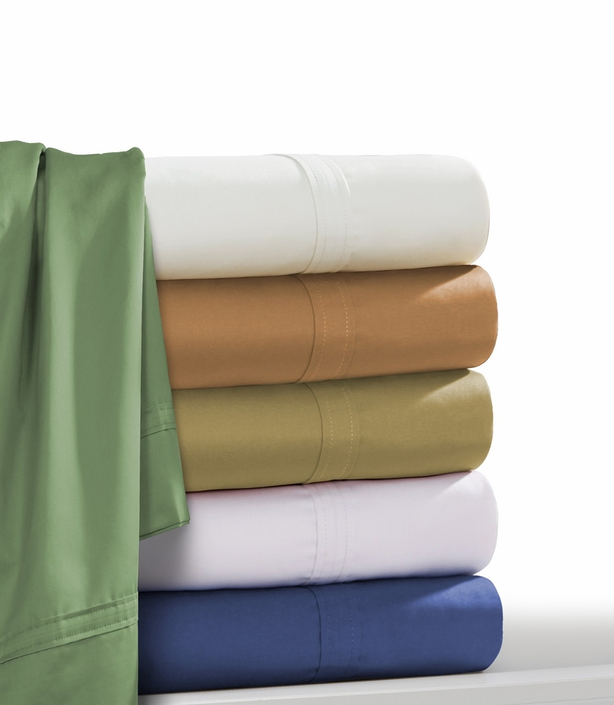 Tribeca Living Egyptian Cotton 500 Thread Count 6 Piece Extra Deep Fitted  Sheet Set