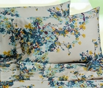 Tribeca Living Casablanca Floral Printed Egyptian Cotton 300 Thread Count Deep Pocket Sheet Set