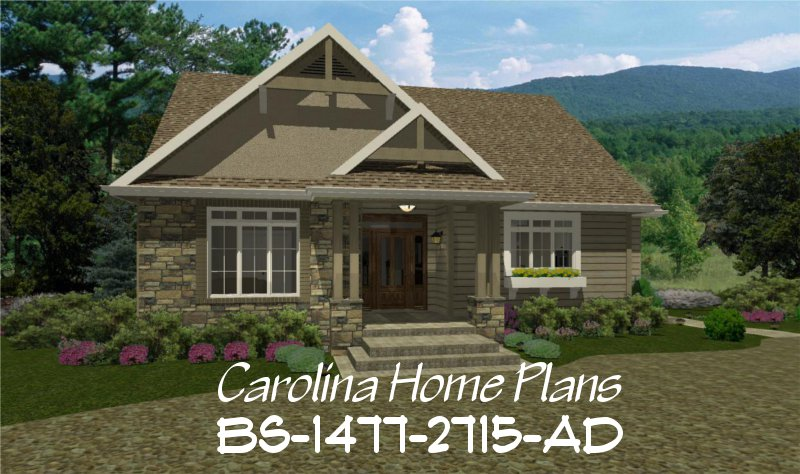 Expandable craftsman house plan bs 1477 2715 ad sq ft for Adhouse plans