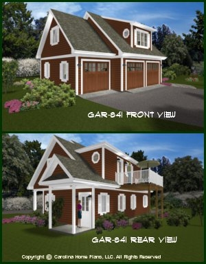 Small expandable house plans house plans for small budgets for Garage apartment plans 1 bedroom