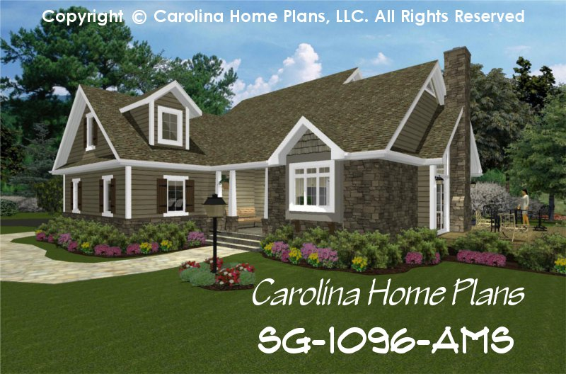 Small cottage craftsman house plans for Craftsman cottage style house plans