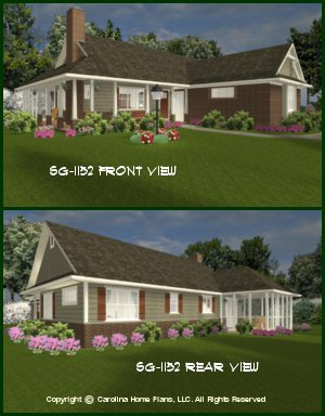 Affordable small house plans small home floor plans for 1 story brick house plans