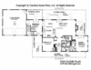 CHP-SG-1280-AA<br />Small Country Cottage House Plan <br />2 Br, 2 Baths, 1 Story