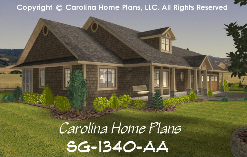 Single Story Craftsman Home Designs on single story cabin homes, single story european home plans, single story contemporary home designs,