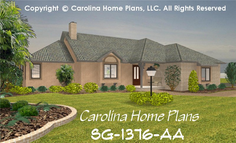 Small Florida Style House Plan SG-1376 Sq Ft | Affordable Small Home on florida small homes, florida homes exterior, corner house designs, new york designs, florida interior design, florida luxury homes, florida landscape design, health designs, florida homes inside, florida land, cool house plans and designs, vision designs, california designs, boutique shabby chic interior designs, florida construction, pets designs, poor ad designs, florida design luxury plans, team designs, arizona designs,