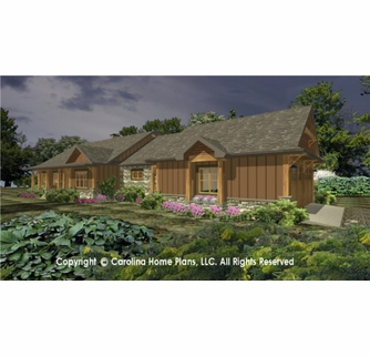 Small Craftsman Cabin House Plan Chp Sg 1688 Aa Sq Ft