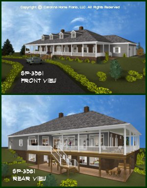 Large house plans luxury home plans for Luxury plantation home plans