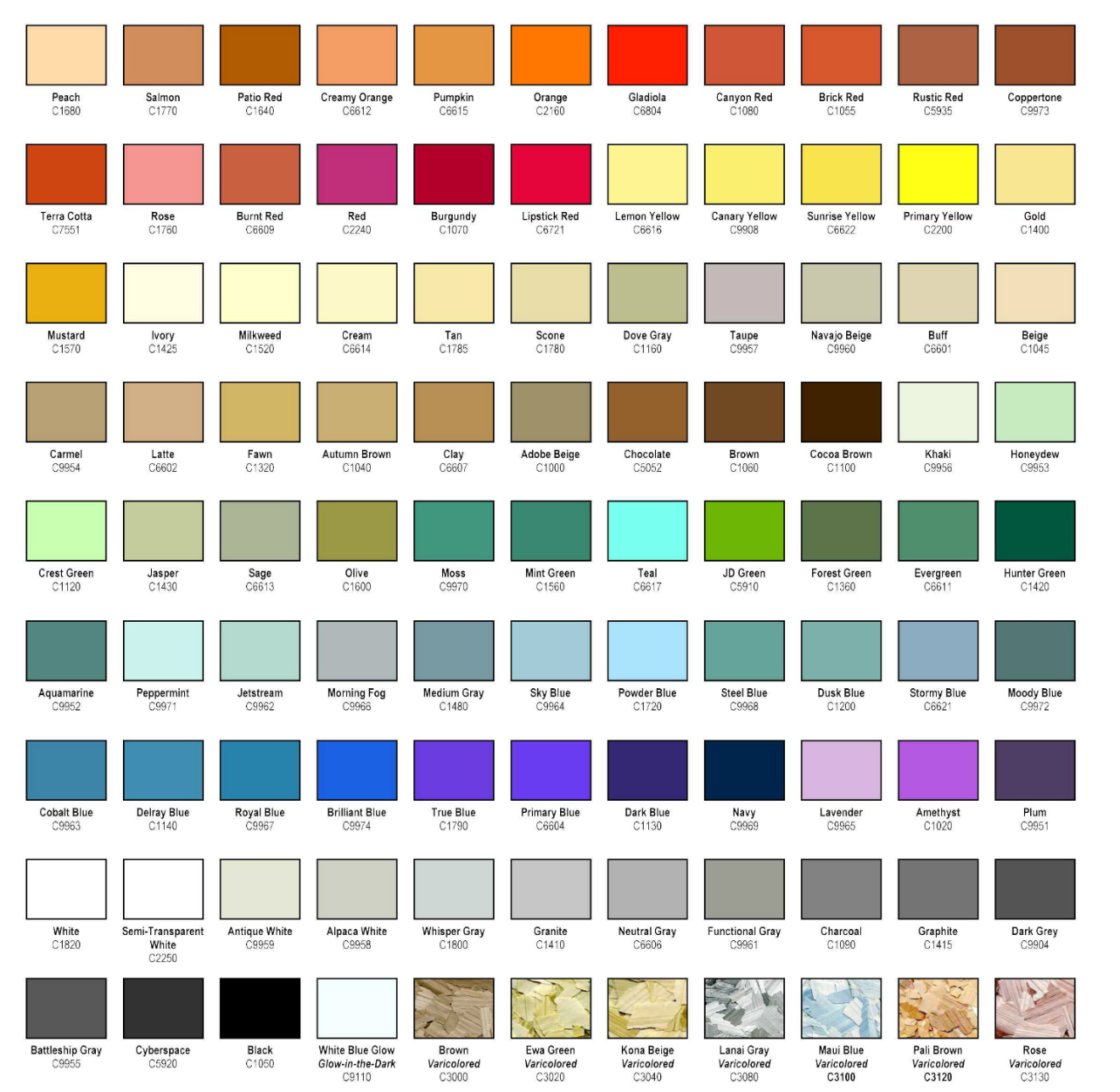 Subaru Paint Color Codes