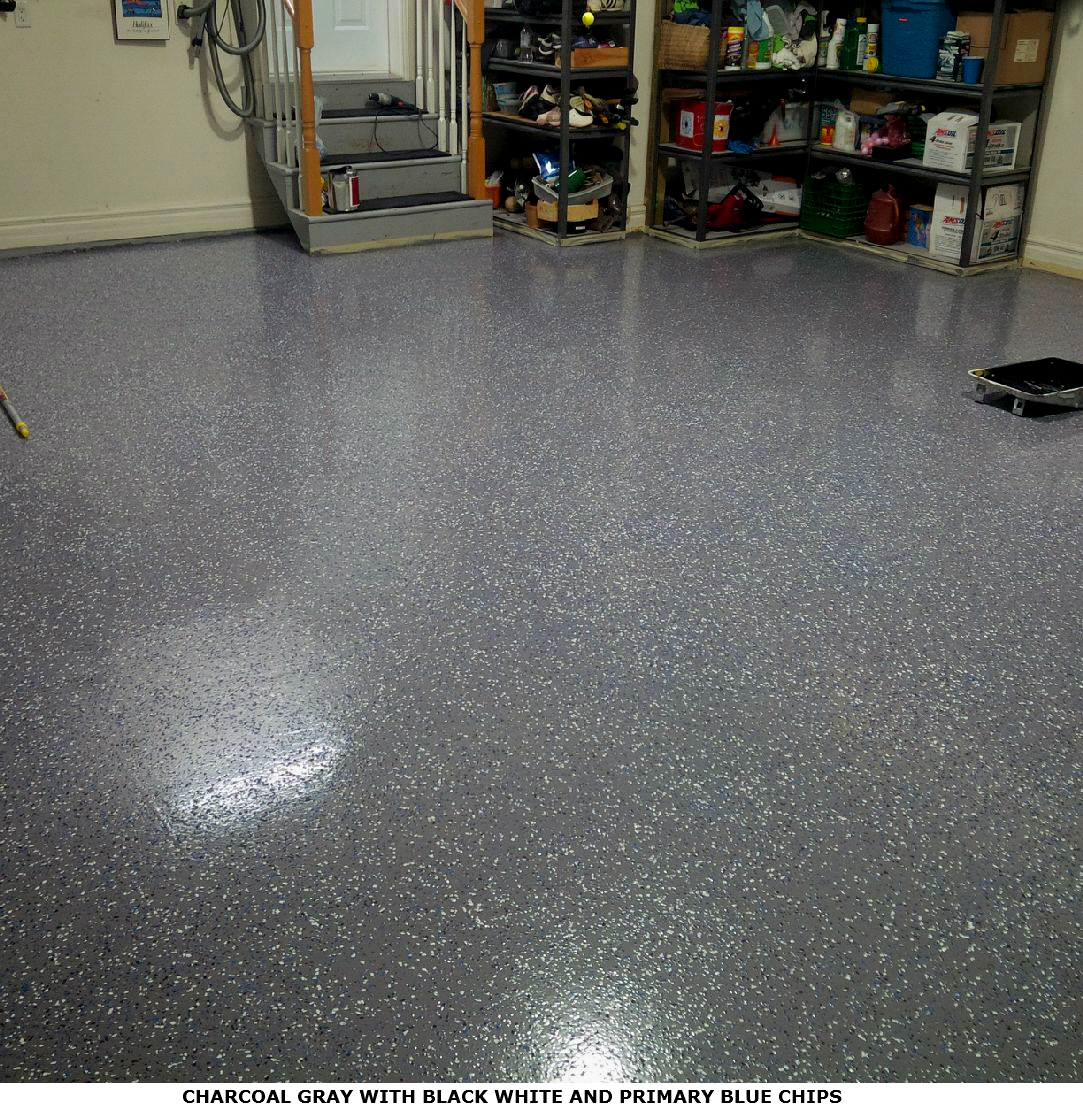 Garage floor epoxy kits epoxy flooring coating and paint for Epoxy flooring