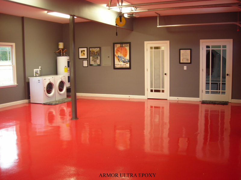 Industrial commercial epoxy flooring armorgarage for What color to paint garage floor