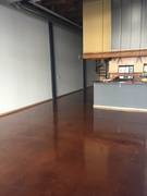 CLEAR TOPCOAT FOR CONCRETE STAINED FLOORS