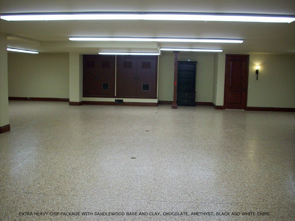 Dry basement epoxy flooring kit armorgarage for Dry basement