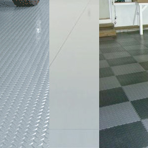 Comparison Between Garage Mats Tiles And Epoxy Coatings - Garage floor tracks