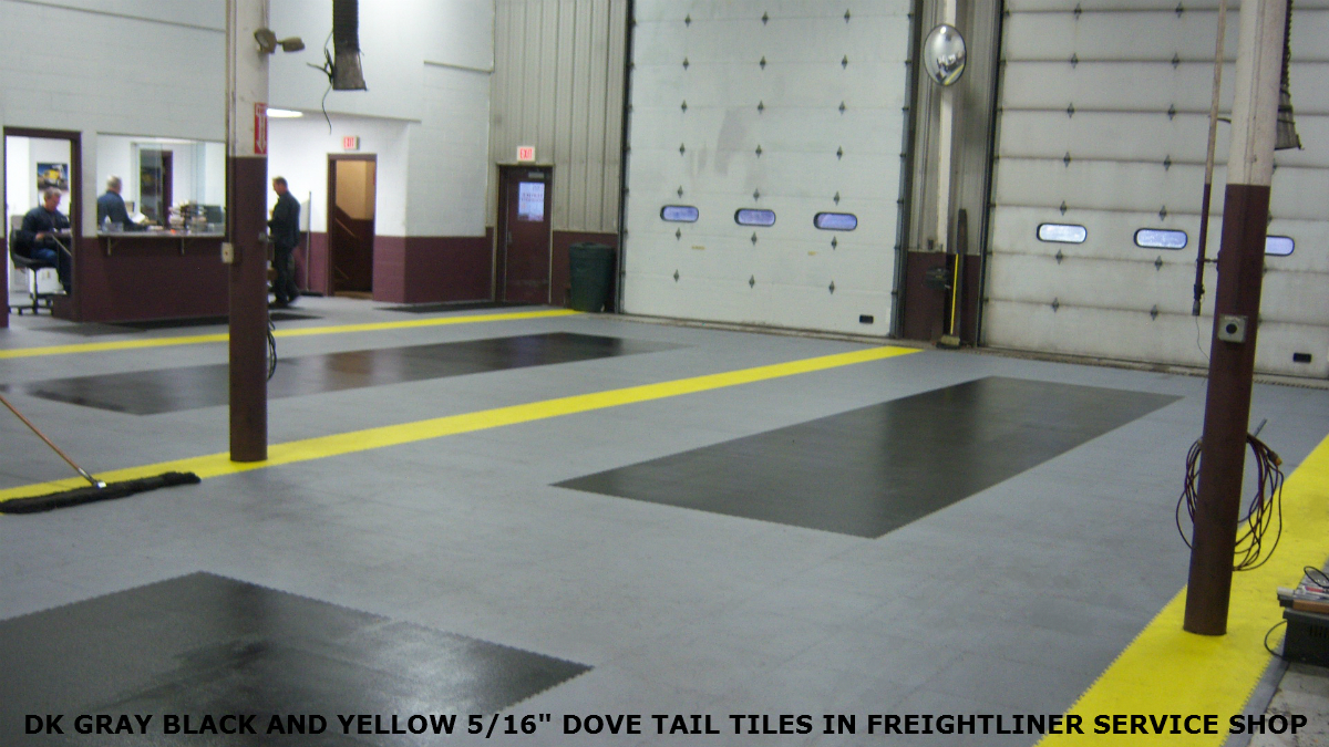 Garage Floor Tiles Interlocking Industrial Pvc Tiling Armorgarage