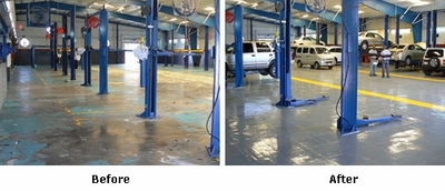 Garage Flooring Products