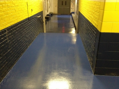 INDUSTRIAL EPOXY WALL PAINT