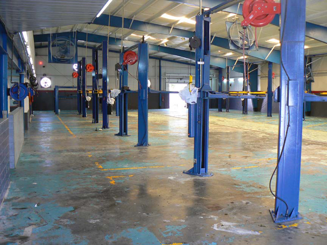 Garage Floor Tiles Interlocking Industrial Pvc Tiling
