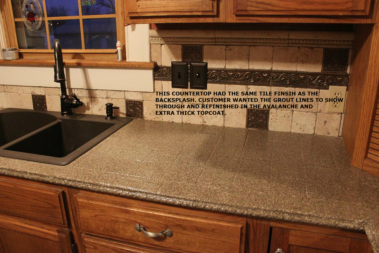 Painting Countertops Reviews How To Paint A Faux Marble Finish Countertop Batchelors Way On