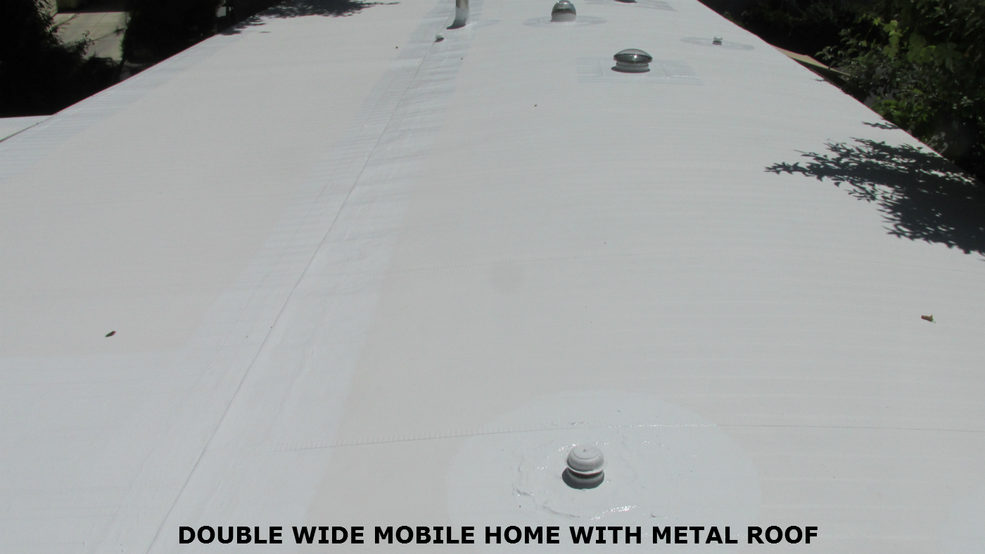 metal roof coating - Mobile Home Roof Coating