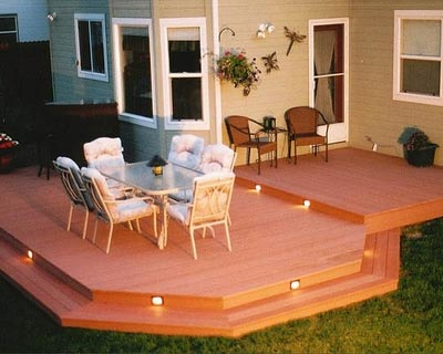 how to clean algae off wood deck