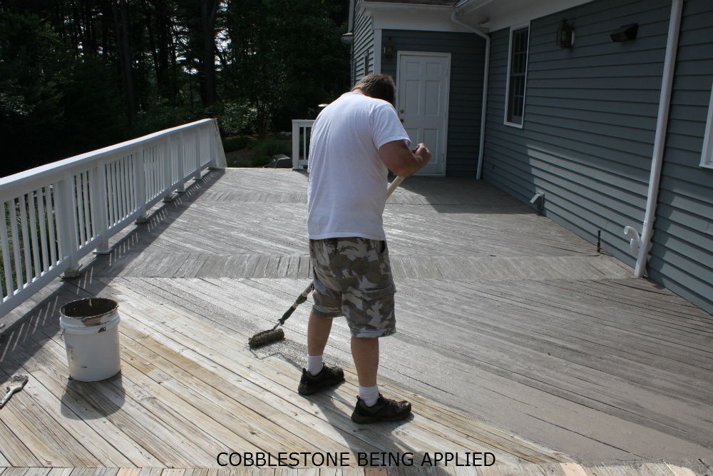 Deck coating renew deck coating for concrete and wood deck restoration deck paint color selection Exterior concrete floor coatings