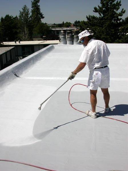 Exceptional Metal, Asphalt And Rubber Flat Roof Coatings