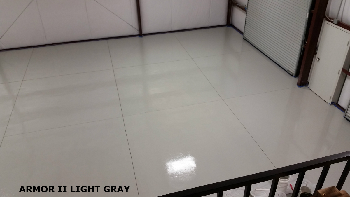 Commercial epoxy flooring epoxy floor garage floor epoxy armor ii is a 100 complete diy commercial epoxy flooring system for shop and high traffic floors solutioingenieria Images