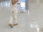 COMMERCIAL EPOXY PAINT FLOORS - 2 LAYER 14 MILS THICK