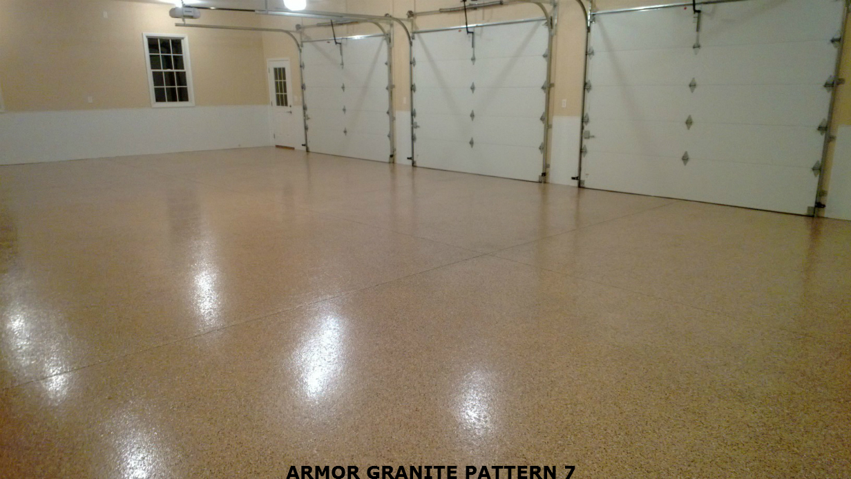 How to paint an epoxy concrete floor coating quikrete for Two floor garage