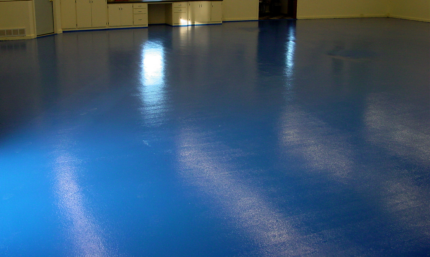 WET BASEMENT FLOOR EPOXY KIT