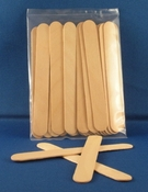"AT105    6"" Wood Tongue Depressors ( 25 pack )"