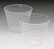 AT108    1oz. Mini Mixing Cups ( 25 pack )