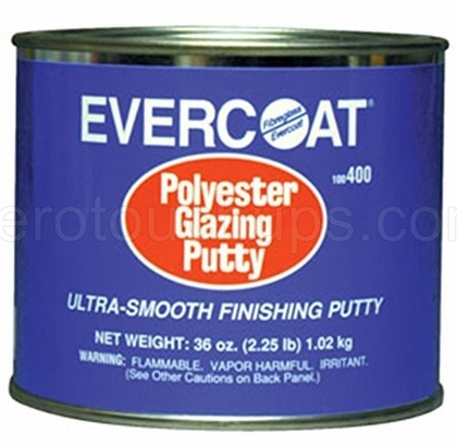 Fibreglass Evercoat 400 Polyester Glazing Putty