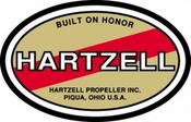 Hartzell Propeller Decal 09-02986 (sold individually)