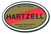 Hartzell Propeller Decal 09-42838 (sold individually)