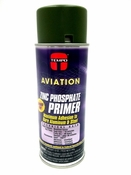 Tempo A-702 Green Zinc Phosphate Primer - 12 Oz. Aerosol Spray Can