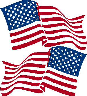 Wavy US Flag Decal Set Right & Left Side $ 12.99 - $ 42.00