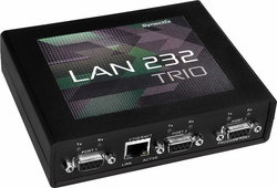 Synectix LAN TRIO Three-Port Serial to Ethernet Adapter