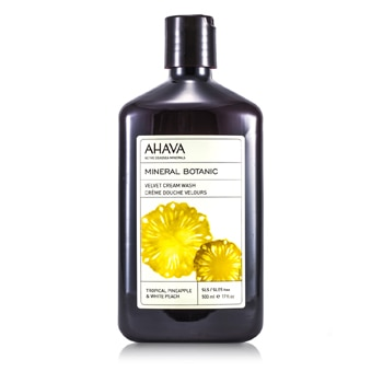 Ahava Mineral Botanic Velvet Cream Wash - Tropical Pineapple White Peach